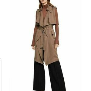 """BCBGMAXAZRIA """"Brielle"""" trench coat"""